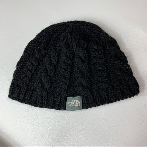 74c65e8f01d897 The north face beanie black cable knit. M_5c6deba8a5d7c6762362a536